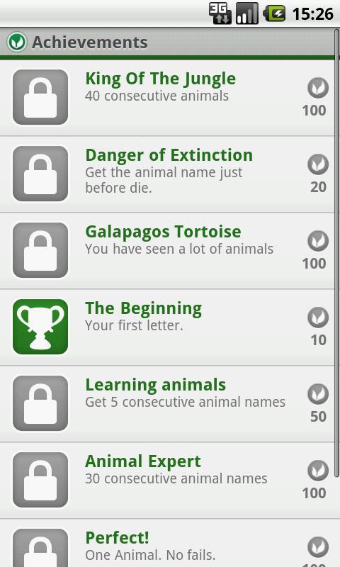 Hangman: Animal Edition- screenshot