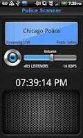 Screenshot of Police Scanner 5-0 (FREE)