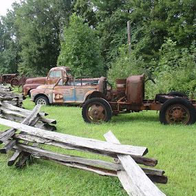 In the past by Deegee English - Transportation Automobiles (  )