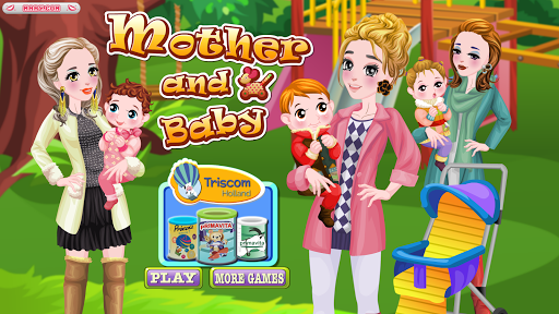 媽媽和寶寶- 寶貝遊戲