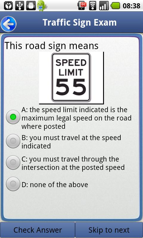 Driver License Test New York - screenshot