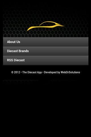 Diecast App HD
