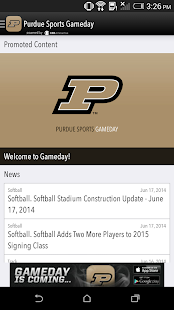 PurdueSports.com Gameday LIVE - screenshot thumbnail