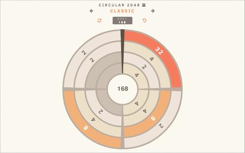 Circular 2048 - screenshot thumbnail