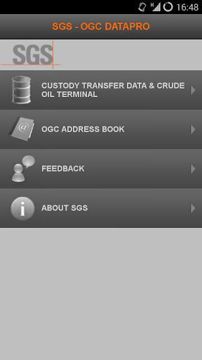 SGS OGC DataPro