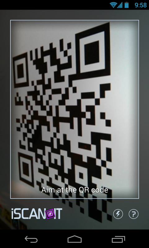 Fastest QR Scanner Reader App- screenshot