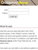 Screenshot of Crossword Nexus