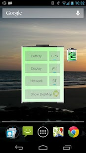 Battery Widget - screenshot thumbnail