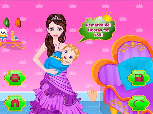 玩免費休閒APP|下載公主出生的寶寶的遊戲 app不用錢|硬是要APP