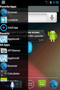 AppScroll Sidebar Lite- screenshot thumbnail