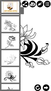 如何繪製紋身花