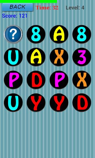 游戏启发字母表