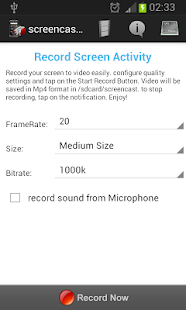 Screencast PRO- screenshot thumbnail