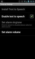 Screenshot of Timezup - Talking Timer