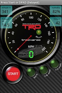 TRD Speedo Dynomaster Layout - screenshot thumbnail