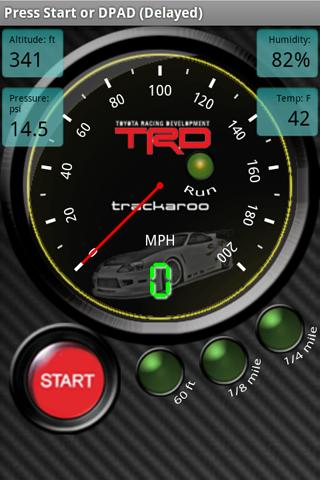 TRD Speedo Dynomaster Layout - screenshot
