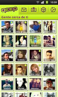 Qeep: Chatea, liga, haz amigos: miniatura de captura de pantalla