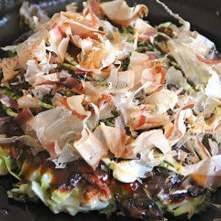 Okonomiyaki (Savory Cabbage Pancake).