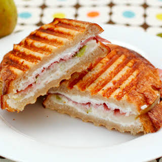 Prosciutto, Pear, and Goat Cheese Panini.