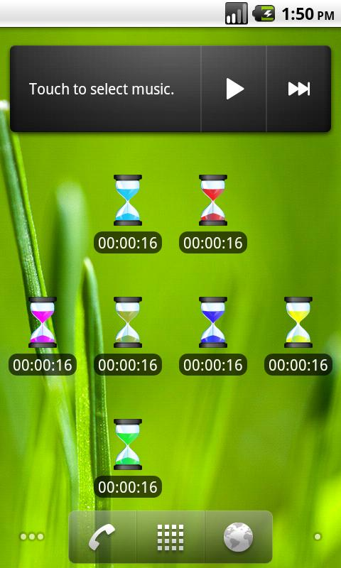 TinyTimer 1X1- screenshot