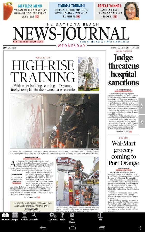 Daytona Beach News-Journal - screenshot