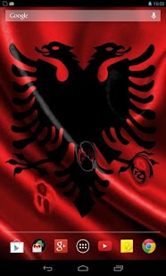 Flag of Albania (wave effect) - screenshot thumbnail