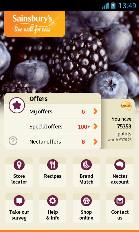Sainsbury's - screenshot