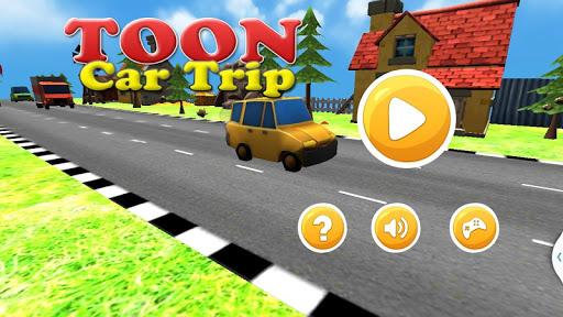 トゥーン車の旅