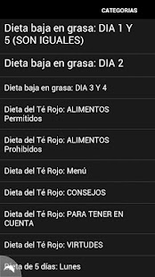 Dieta de 5 días - screenshot thumbnail