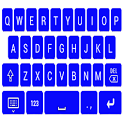 Blue Keyboard icon