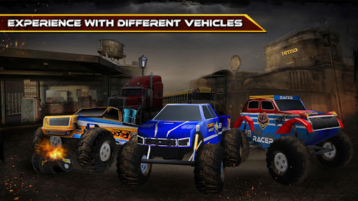 【免費賽車遊戲App】Nitro Truck 3D-APP點子