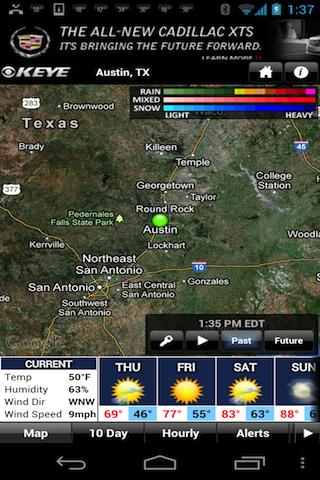 KEYE WX - screenshot