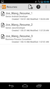 Resume Ready Lite - screenshot thumbnail