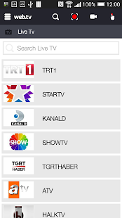 Web TV- screenshot thumbnail