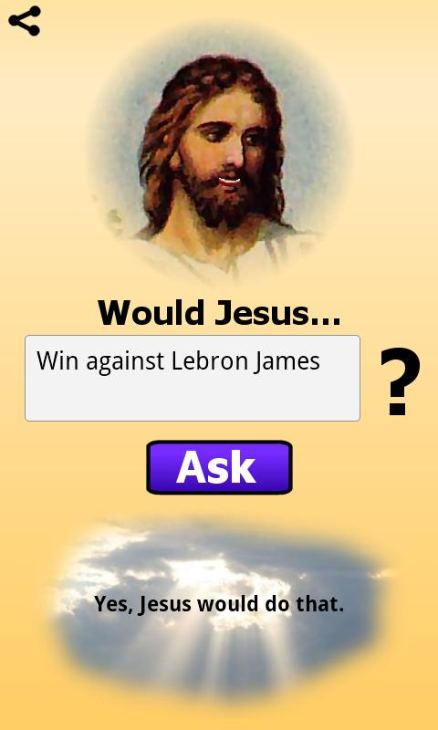 What Would Jesus Do? - screenshot