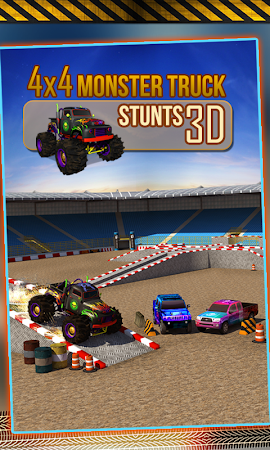 4x4 Monster Truck Stunts 3D 1.8 screenshot 641608