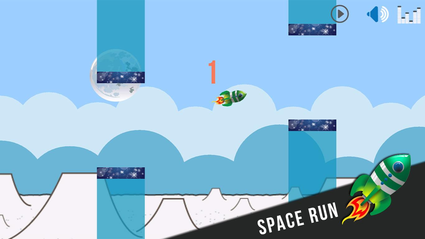 Flappy Rocket - Space Run- screenshot