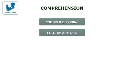 Math Comprehension