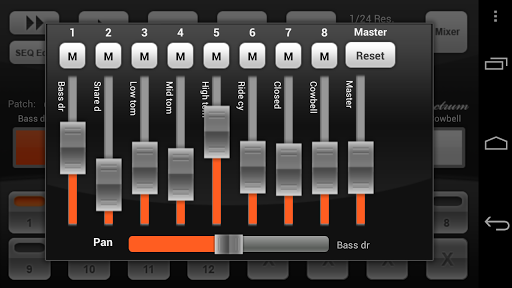 Electrum Drum Machine/Sampler screenshot