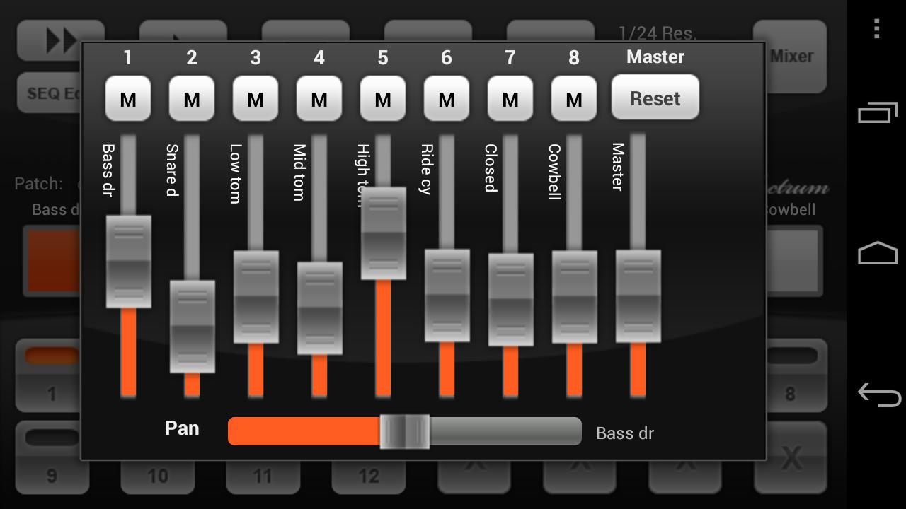 Electrum Drum Machine/Sampler screenshot #2