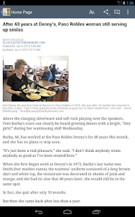 San Luis Obispo Tribune news - screenshot thumbnail