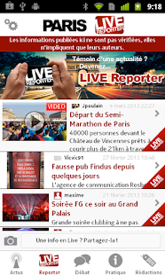 Paris Live - screenshot thumbnail