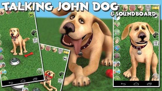 Talking John Dog & Soundboard - screenshot thumbnail