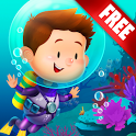 Explorium: Ocean for Kids Free icon