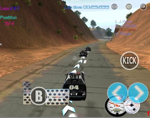 Police Car Race Simulator 3D
