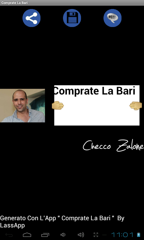 Comprate La Bari- screenshot