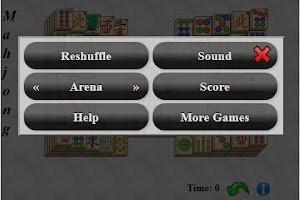 Screenshot of Mahjong Solitaire