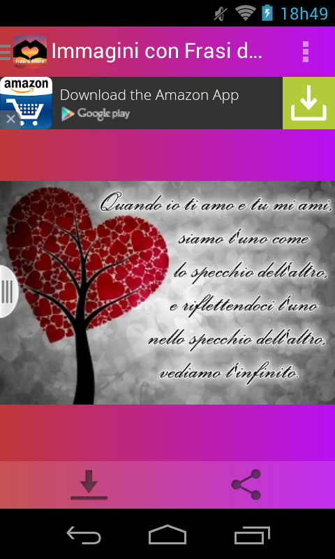 Super Immagini con Frasi d'Amore - Android Apps on Google Play YN86