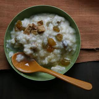 Tibetan Rice Pudding.