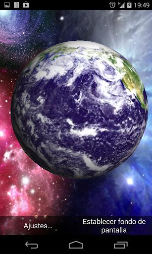 3D 地球动态壁纸